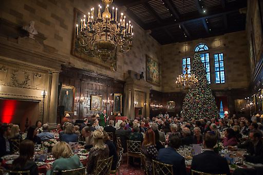 150 geladene Gäste erlebten im prunkvollen Saal des Harvard Club von New York City die Präsentation des Festspiel-Jubiläums.