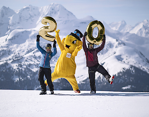 Das größte Skigebiet des Zillertals – die Zillertal Arena – feiert 20 Jahre Jubiläum.