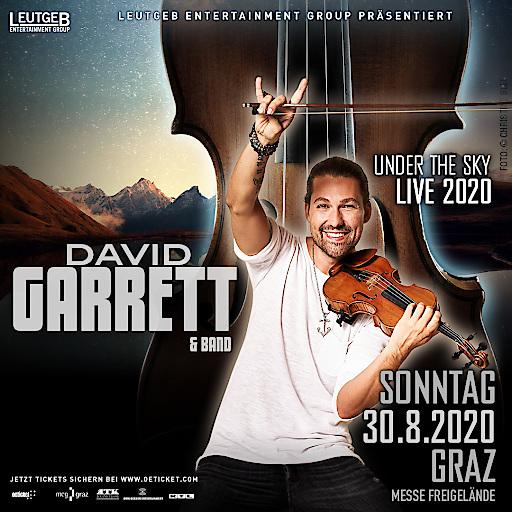 DAVID GARRETT - GRAZ