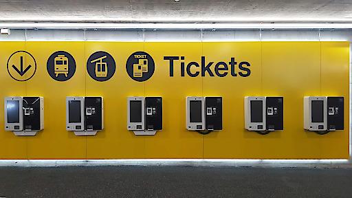 Ein paar der 11 Alturos Destinations Vertriebsterminals in Andermatt.
