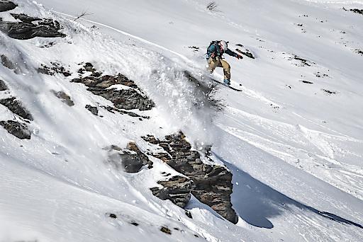 """Über Stock und Stein: """"Open Faces"""" führt am 8. Februar 2020 junge Rider auf das Alpbachtaler Wiedersbergerhorn im Ski Juwel Alpbachtal Wildschönau."""