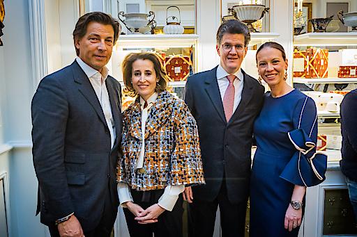 """Die Familie Gürtler und Winkler lud zum """"Rendezvous@Sacher"""""""