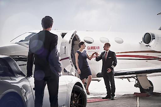 Mit 20 Flugzeugen betreibt GlobeAir die weltweit größte Flotte von Cessna Citation Mustang Jets