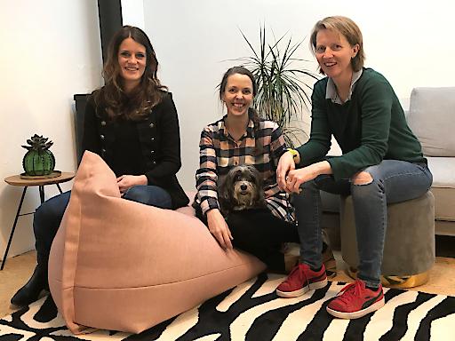 Verstärken das Team der Speed U Up (v. l.): Natalie Mathoy, Elisabeth Marte und Elisabeth Cutka