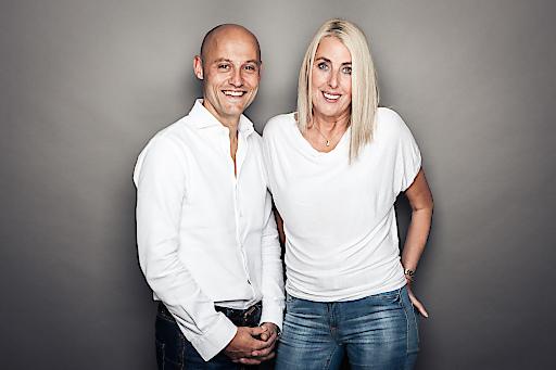 Die stolzen CEOs der Dachmarke Symposion Hotels: Andreas und Andrea Kernreiter