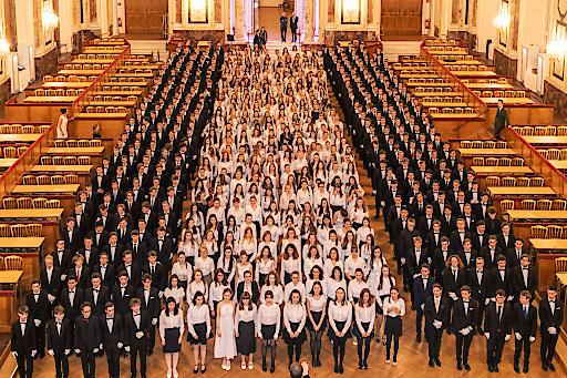 Rekord an Eröffnungspaaren beim 100. Elmayer-Kränzchen in der Hofburg