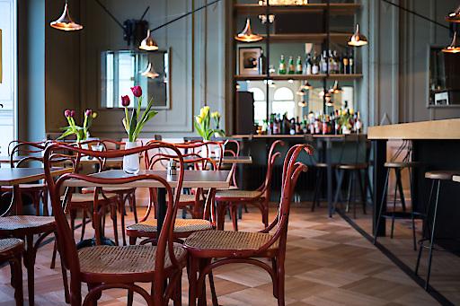 Neueröffnung Dogenhof: ein radikal schlichtes Restaurant an einem historischen Ort, BILD zu OTS -