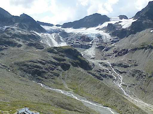 Ochsentaler Gletscher 2019. (Foto: ÖAV Gletschermessdienst / G. Groß)