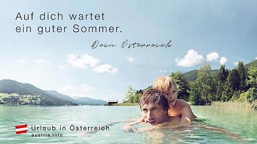 """Beispiel-Sujet """"Auf Dich wartet ein guter Sommer"""""""