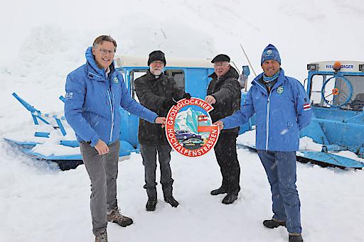 BILD zu OTS Schneeräumung an der Großglockner Hochalpenstraße