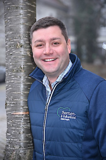 Thermen- & Vulkanland Steiermark Geschäftsführer Mario Gruber