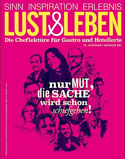 Lust&Leben - Cover der aktuellen Ausgabe