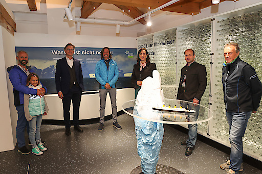 """Neue interaktive Ausstellung """"Gesichter des Wasser"""" in den WasserWelten Krimml"""