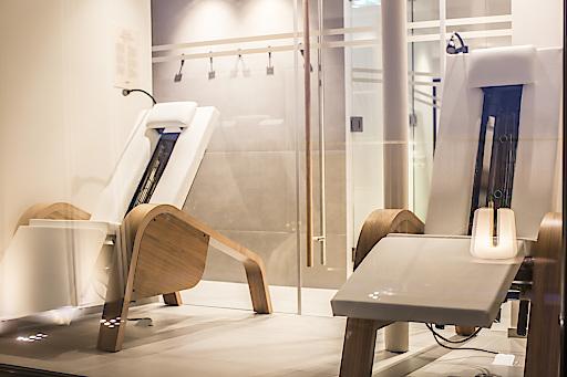 Die neue moderne Panoramasauna von KLAFS im boutiquestyle Hotel Hirschen Dornbirn wird sowohl von Geschäftskunden als auch von Erholungssuchenden während eines Wochenendaufenthaltes sehr geschätzt.