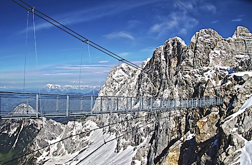 Erlebnis Dachstein mit Sky Walk, Hängebrücke,...