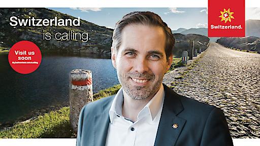 """""""Switzerland is calling""""-Hintergrund mit Martin Nydegger, Direktor Schweiz Tourismus"""