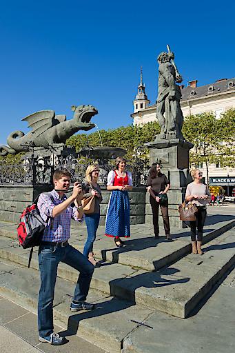 alternative Stadtführungen in der Innenstadt und rund um Klagenfurt