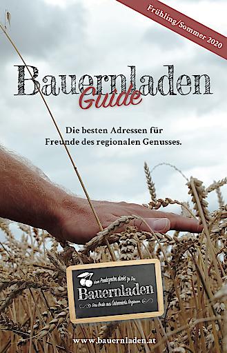 Cover des druckfrischen Bauernladen Guide