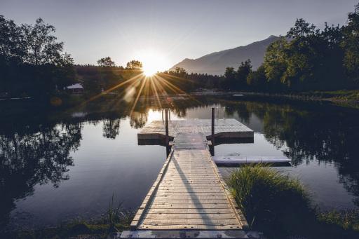 In der Region Hall-Wattens in Tirol liegt die nächste Möglichkeit zum Abkühlen stets nah.