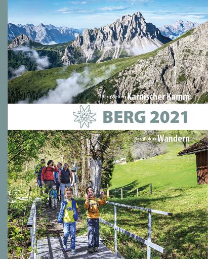 Buchcover Alpenvereinsjahrbuch BERG 2021