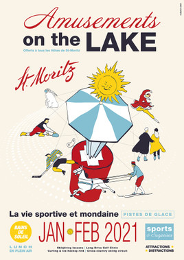 "Bild zu St. Moritz lädt zu ""Amusements on the Lake"" ein"