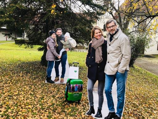 Zwei neue Zielgruppen laut Strategie 2025 von Steiermark Tourismus im Fokus der gesamten Kommunikation: Ehepaar Eschenbach (re) und Familie Neumaier (li).