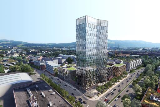 Der spektakuläre Neubau in der Tabakfabrik Linz heißt QUADRILL. Die Kufsteiner BODNER Gruppe kündigt die ersten Bauarbeiten fürs Frühjahr 2021 an. Läuft alles nach Plan soll das vierteilige Gebäude-Ensemble 2025 fertiggestellt sein. Der QUADRILL-Tower wird mit 109 Meter Höhe Österreichs höchster Hotel-und Büroturm außerhalb der Bundeshauptstadt Wien. Mit dem Wunschprojekt der Linzer Stadtführung entstehen vorwiegend neue moderne Büroflächen, Kleinwohnungen, Gastronomie- und Handelsfläche. Die Verwertung wird unternehmensintern von der BODNER Gruppe durchgeführt, die das Leuchtturmprojekt in Linz entwickelt hat.