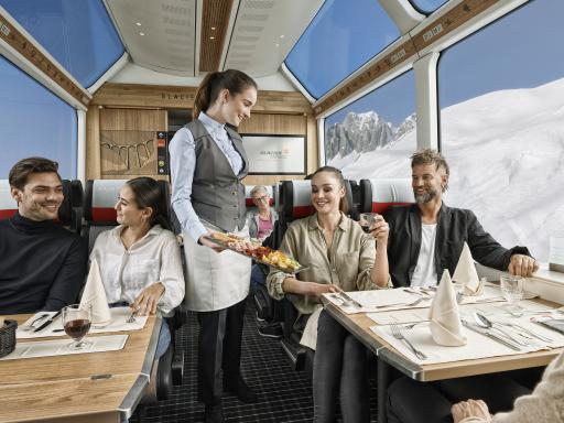 Die neue 2. Klasse des Glacier Express