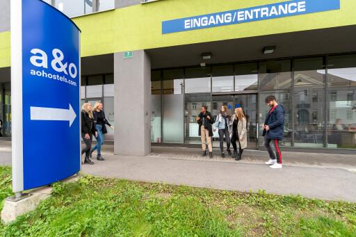 Beim vor wenigen Jahren neue gebauten a&o Hostel in Graz wurde bereits auf bestmögliche Barrierefreiheit geachtet.