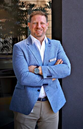 Profilfoto Robert Gasser, neuer Direktor der Werzer´s Hotels am Wörthersee
