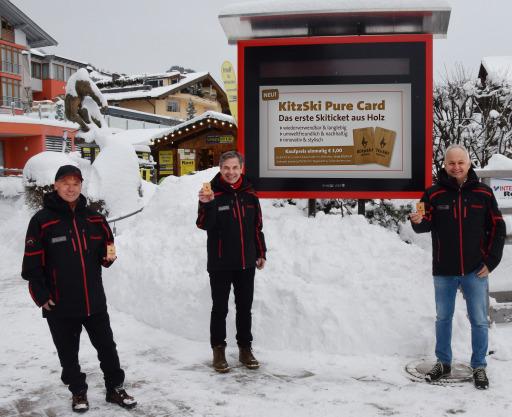 Wer die KitzSki Pure Card über den Webshop (shop.kitzski.at) bestellt, kann sie auf Wunsch mit Vor- und Nachnamen personalisieren lassen.