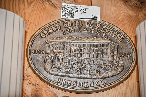 Grand Hotel Europa Innsbruck Auktion
