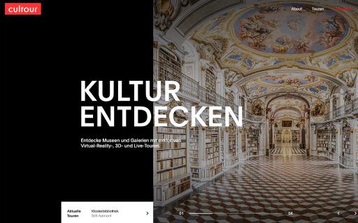 Homepage https://cultour.digital/