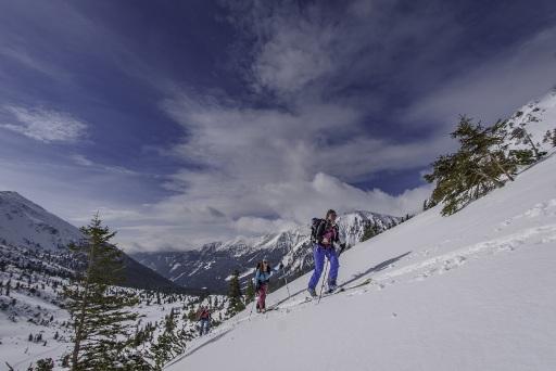 Wintersportausbildung im Freien