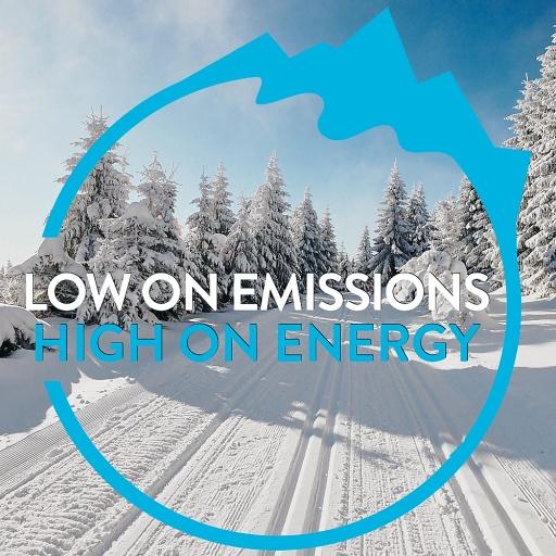 "WE4SKI NORDIQ - ""Low on Emissions - High on Energy"","