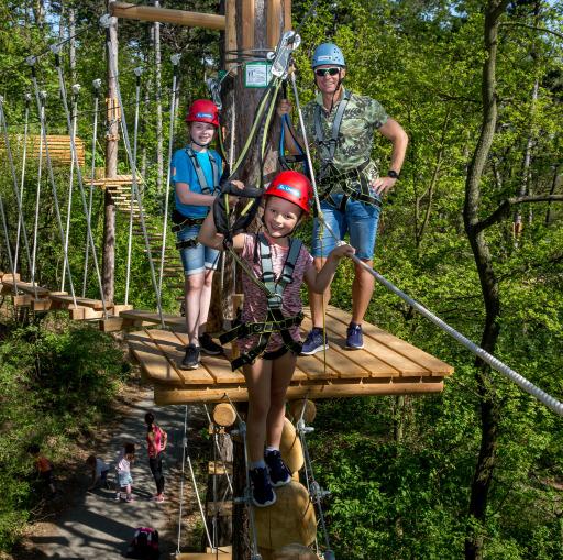 Waldseilpark Kahlenberg, Ein Erlebnis für die ganze Familie