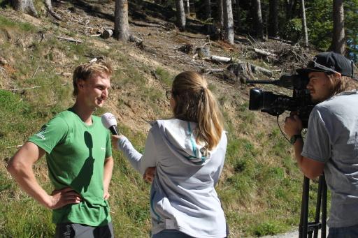 Ein interessantes Praktikum bietet die Alpenvereinsjugend für junge Leute ab 18 Jahren an.