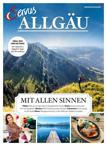 """Cover der neuen Regionalausgabe """"Servus Allgäu"""""""
