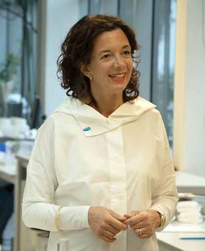 Kerstin Heine ist Chemikerin und Desinfektionsexpertin beim Hygienespezialisten Hagleitner