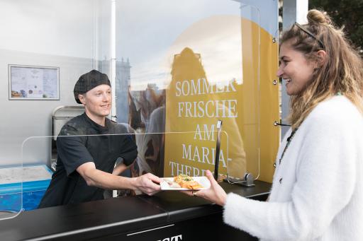 Kulinarische Sommerfrische mit dem KHM Pop-Up