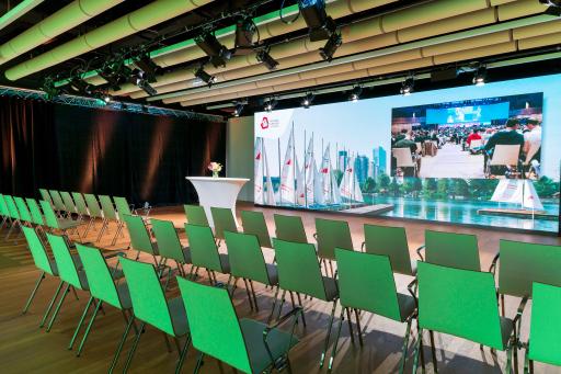 Online- und Hybrid Meeting im Saal N im Austria Center Vienna