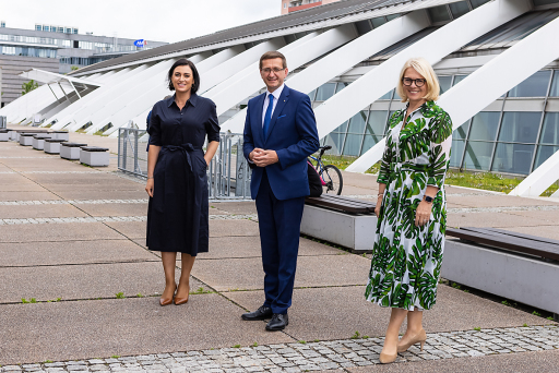 ÖHV-Kongressstart in Linz mit Elisabeth Köstinger, Tourismus-Landesrat Markus Achleitner und ÖHV-Präsidentin Michaela Reitterer