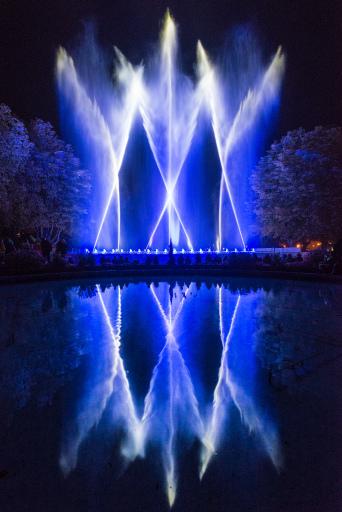 Klangwelle im Schlosspark Laxenburg