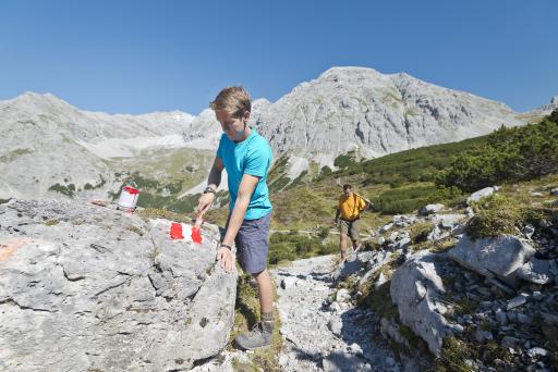 Wegsanierung auf der Nordkette bei Innsbruck (Foto nicht aus diesem Jahr)