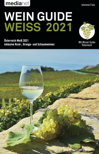 Buchcover des Wein Guide Weiß 2021