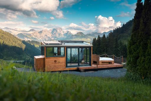 DreamAlive Sleep Lodge eröffnet in Faschina, Biosphärenpark Großes Walsertal