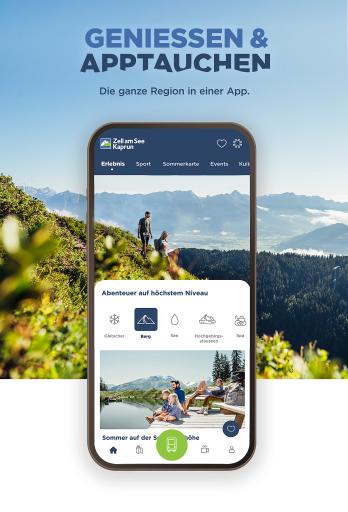 Die App der Region ist der ideale Begleiter für den Urlaub mit allen relevanten Informationen aktuell und bequem verfügbar