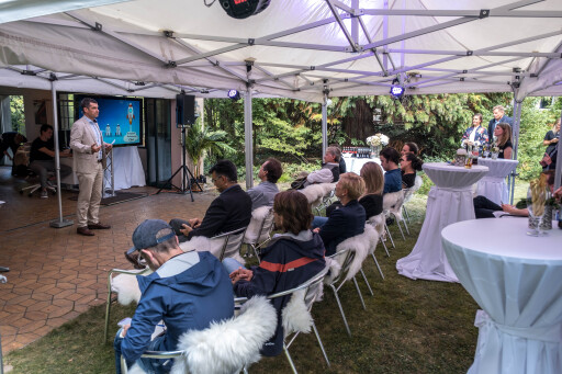 Eröffnungsevent Speed U Up Gruppe im House of Voice in Chur.
