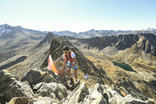 adidas INFINITE TRAILS auf den Gasteiner Bergen.